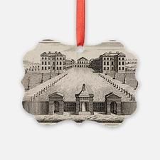 18th C engraving of Foundling Hos Ornament