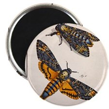 1744 Death's head hawkmoth by Rosenhoff Magnet
