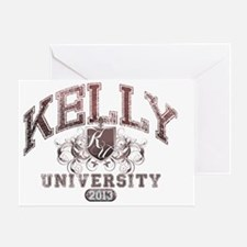Kelly Last name University Class of  Greeting Card