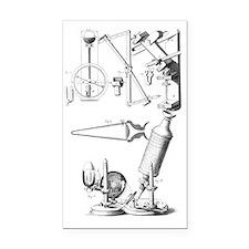 17th Century scientific appar Rectangle Car Magnet