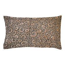 Ammonite paving stones Pillow Case