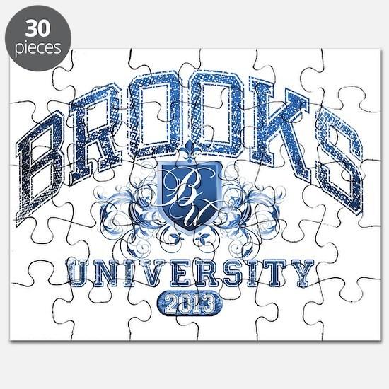 Brooks last name University Class of 2013 Puzzle