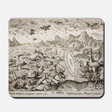 1674 Animal Creation According to Genesi Mousepad