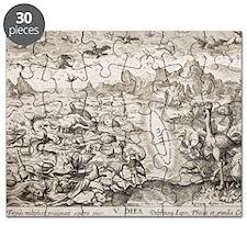 1674 Animal Creation According to Genesis Puzzle