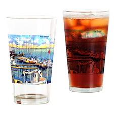 Vintage Biloxi Shrimp Oyster Boat P Drinking Glass