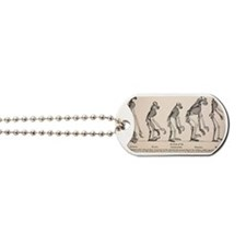 1863 Huxley from Ape to Man evolution Dog Tags