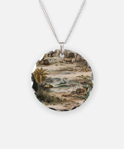 1849 The antidiluvian world  Necklace