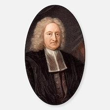 1736 Edmond Halley astronomer Decal