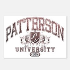 Patterson Last Name Unive Postcards (Package of 8)