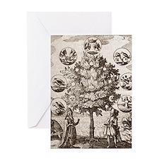 Alchemical tree, Philosophia reforma Greeting Card