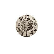 Alchemical tree, Philosophia reformata Mini Button