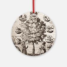 Alchemical tree, Philosophia reform Round Ornament