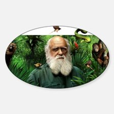 Charles Darwin, British naturalist Decal