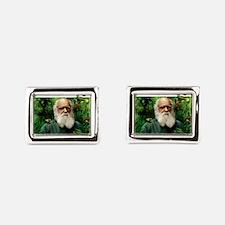 Charles Darwin, British naturalist Cufflinks