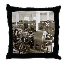 Alexanderson alternator Throw Pillow