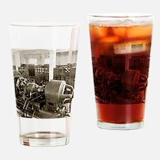 Alexanderson alternator Drinking Glass