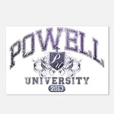 Powell Last Name Universi Postcards (Package of 8)