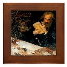 Dmitri Mendeleev, Russian chemist Framed Tile