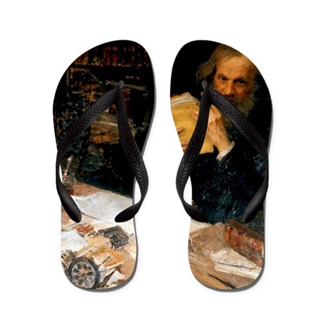 Dmitri Mendeleev, Russian chemist Flip Flops