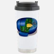 Chloroplast structures, Stainless Steel Travel Mug