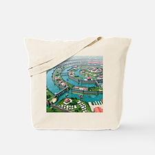 Atlantis, artwork Tote Bag