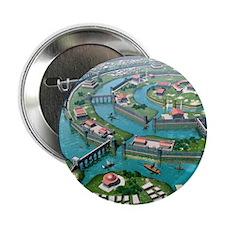 "Atlantis, artwork 2.25"" Button"