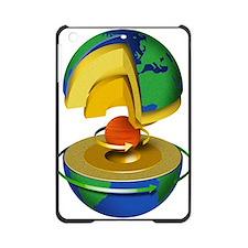Earth's internal structure, artwork iPad Mini Case
