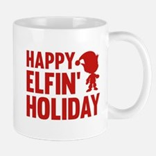 Happy Elfin' Holiday Mug