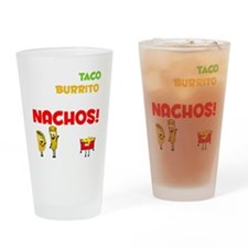 Taco and Burrito Conversation, Nach Drinking Glass