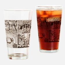 Emblems from Philosophia reformata Drinking Glass
