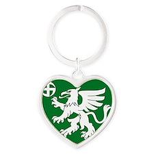 Utti Jaeger Regiment Heart Keychain