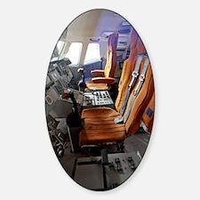 Buran Shuttle cockpit Sticker (Oval)
