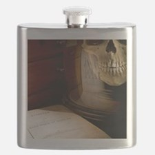 1863 Huxley Man's Place in Nature desktop Flask