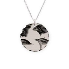 Darwin's Galapagos Finches Necklace