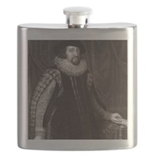 Francis Bacon, English philosopher Flask