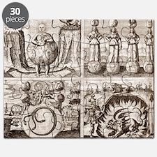 Emblems from Mylius' Philosophia reformat Puzzle
