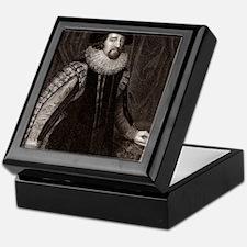Francis Bacon, English philosopher Keepsake Box