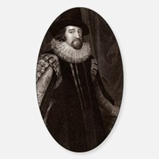 Francis Bacon, English philosopher Decal