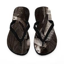Francis Bacon, English philosopher Flip Flops