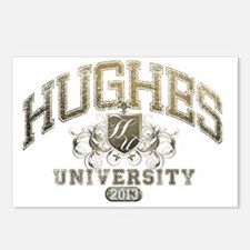Hughes Last name Universi Postcards (Package of 8)
