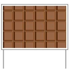 chocolate bar Yard Sign