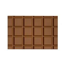 chocolate bar Rectangle Magnet