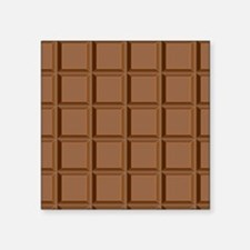 "chocolate bar Square Sticker 3"" x 3"""