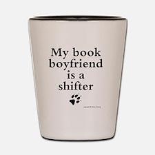 my book boyfriend2 Shot Glass