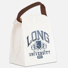 Long Last Name UNiversity Class o Canvas Lunch Bag
