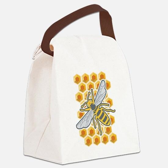 Evisionarts Canvas Lunch Bag