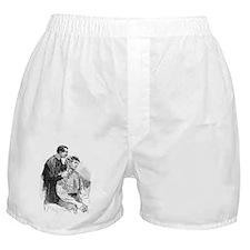 Anthropometry, 19th century Boxer Shorts