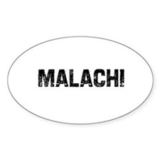 Malachi Oval Decal