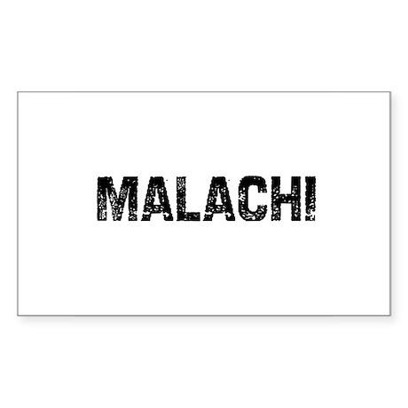 Malachi Rectangle Sticker