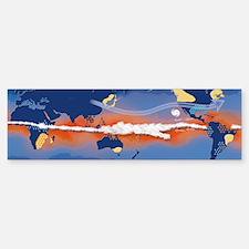 El Nino, artwork Sticker (Bumper)